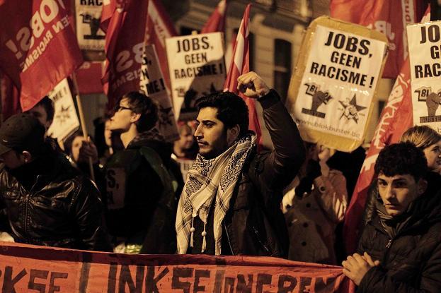 anti-nsv betoging in gent vorig jaar